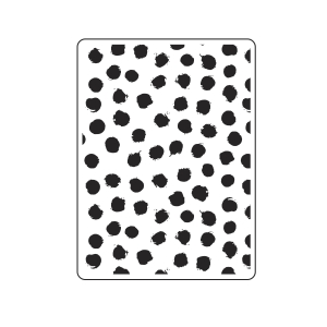 Darice Embossing Folders: Blotted Dots Background