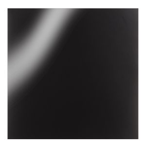 Oracal 651 Glossy Vinyl Sheets - Black - 12 x 12 inches