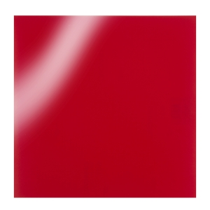 Oracal 651 Glossy Vinyl Sheets - Red - 12 x 12 inches