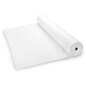 Aisle Runner - Poly Linen - White - 150 feet
