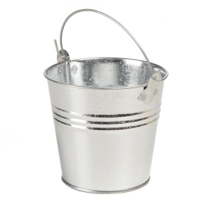 Galvanized Pail - 3.75 inches