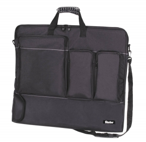 Nylon Portfolio - Black - 24 x 28 x 1.5 inches