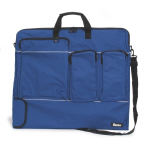 Nylon Portfolio - Navy Blue - 24 x 28 x 1.5 inches