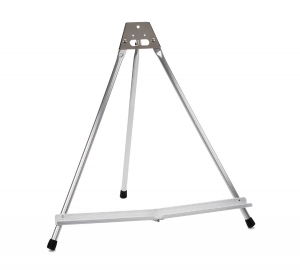 Tabletop Easel - Aluminum - Black Rubber Feet - 19 inch