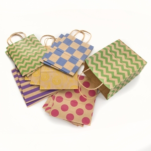 Paper Gift Bags: 8 x 10.25 inches, 13 pack