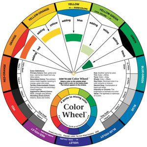 ARTISTS COLOR WHEEL  LG   PACKAGED