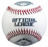 Official League Baseball, Synthetic Leather Cover, Composite Cork & Rubber Center