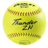"Dudley Thunder ZN NSA Softball, Synthetic Cover, 21"", Dozen"