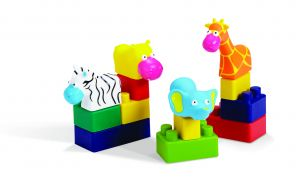 Mini Edu Animals - 28 Pcs - Bag