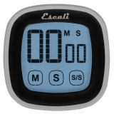 Touch Screen Digital Timer, Black