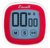 Touch Screen Digital Timer, Red