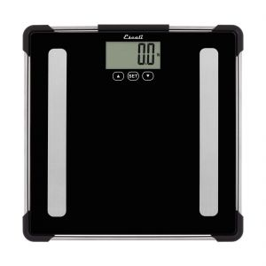Glass Body Analyzing Bathroom Scale, 400 Lb/ 180 Kg.