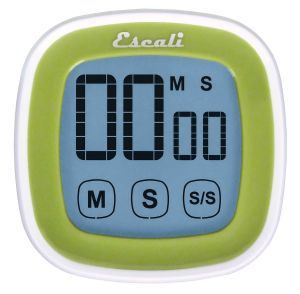 Touch Screen Digital Timer, Green