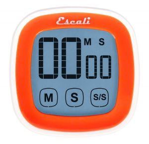 Touch Screen Digital Timer, Orange