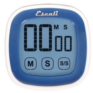 Touch Screen Digital Timer, Blue