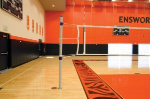 POWER VOLLEYBALL NET 44 TOP CABLE