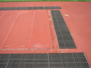 GRATE & MAT SAND CATCHER COVER SYSTEM;