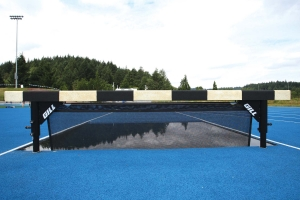 Gill Athletics Steeplechase Water Jump Barrier W/Ground Sleeves