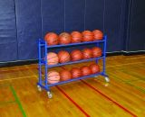 Atlast Ball Cart Stores up to 15 balls 51.5L x 18W x 36H
