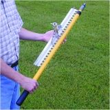 Base Runner Rake with Telescopic Double Locking Handle Adj. 30 - 70