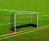 Official Field Hockey Goal w/Bottom Boards 7'H x 12'W x 4'D Nets not included