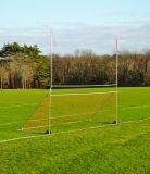 Portable Practice Football/Soccer High School Goal 23'4 Crossbar/Soccer 8'H x 24'W Net not included