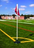 Corner Flags 5'H Including Poles Flags Rubber Bases