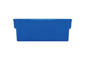 Plastic Cubbie Tray in Blue
