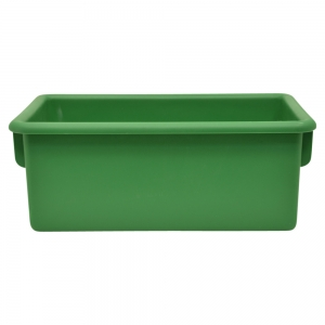 Plastic Cubbie Tray in Forest Green