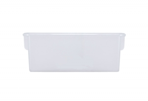 Plastic Cubbie Tray in Frosted