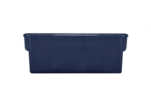 Plastic Cubbie Tray in Navy