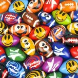 "4.75"" Stress Football Assortment, 36 Balls"