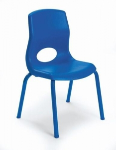 "Angeles MyPosture Chairs 12""  - Royal Blue"