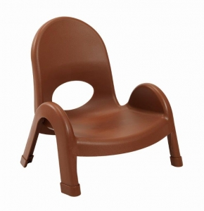 "Angeles 5""Value Stack Chairs - Cocoa"