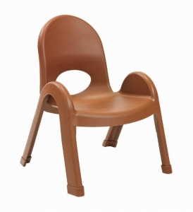 "Angeles 9""Value Stack Chairs - Cocoa"