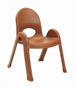 "Angeles 11""Value Stack Chairs - Cocoa"