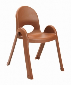 "Angeles 13"" Value Stack Chairs - Cocoa"
