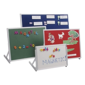 Magnetic Language Easel, Whiteboard/Hook & Loop