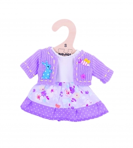 10� Lilac Dress and Cardigan