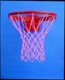 Heavy Duty Anti-Whip Basketball Net, Pink