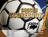 Soccer Team Scorebook, 30 Game
