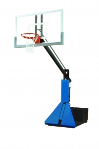 Super Glass Max Portable Adjustable Basketball System
