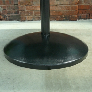 "30"" high surface center pedestal for table"