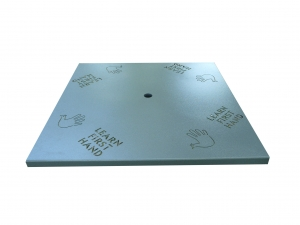 "42"" round solid round table top"
