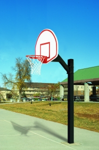 Ultimate Jr. Fan Aluminum Playground Basketball System