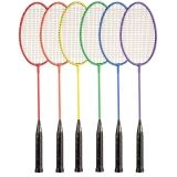 Tempered Steel Badminton Set of 6