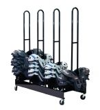 Four Stack Shoulder Pad Rack