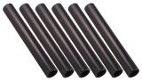 Aluminum Relay Baton Pack of 6, Black