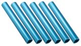 Aluminum Relay Baton Pack of 6, Blue