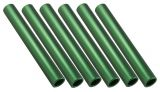 Aluminum Relay Baton Pack of 6, Green